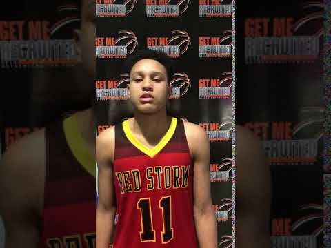 Joshua Bullock (NC Red Storm/Northern Nash HS/Rocky Mount, NC) 2023 5'11 G