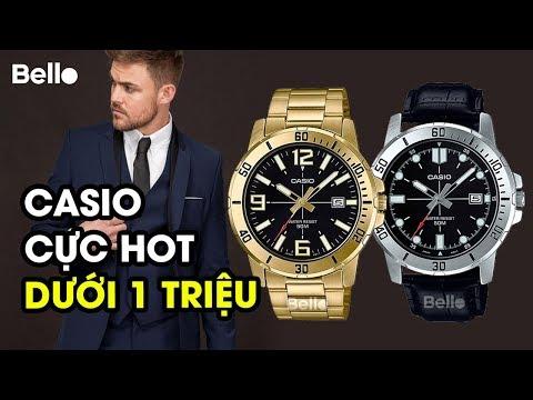 Casio Nam DƯỚI 1 TRIỆU Lịch Lãm, Chống Nước, đầy đủ Màu Sắc, Dây Sắt Dây Da: MTP-VD01 Series