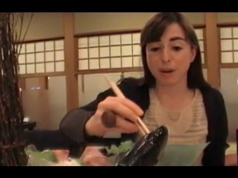 Really fresh sushi in Japan