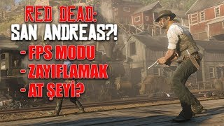 RED DEAD REDEMPTION 2'DEN AĞIZ SULANDIRAN 70 DETAY!