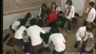 Enfrentamiento entre Diego y Javier - Rebelde - RBD