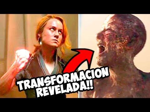 Se Revela la Transformación de los Skrulls!! Capitana marvel Trailer Final!