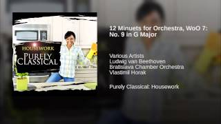 12 Minuets for Orchestra, WoO 7: No. 9 in G Major