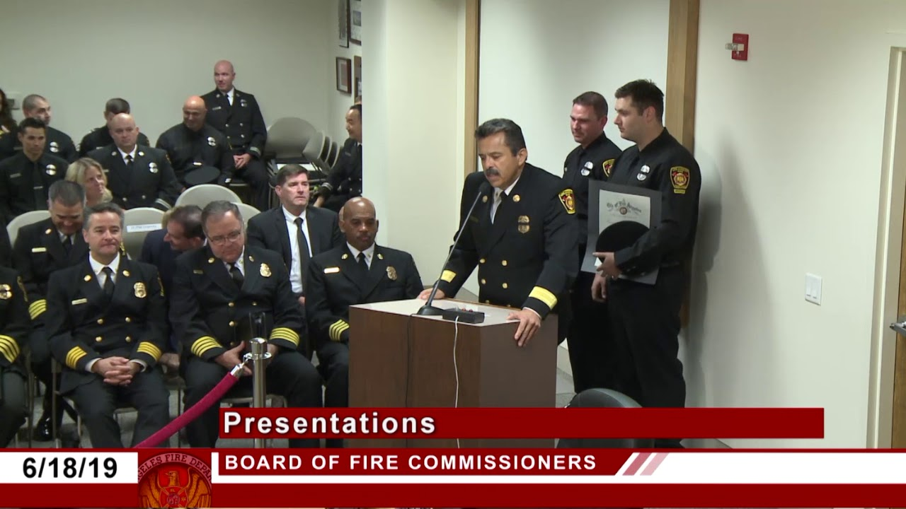 LAFD Firefighters Honored For Saving Multiple Lives at Downtown