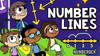 Number Lines Song | Aḋding and Subtracting on a Number Line