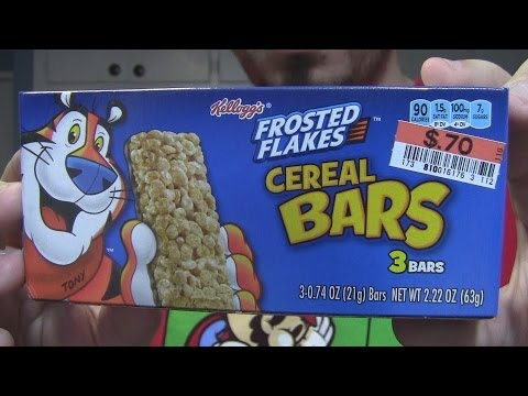 WE Shorts - Frosted Flakes Cereal Bars