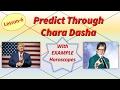 Chara Dasha Analysis with EXAMPLES  | Lesson-6 | Jaimini Astrology