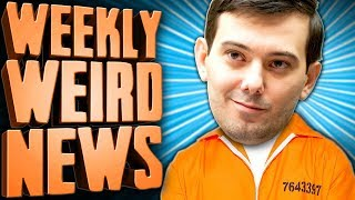 Martin Shkreli's Life Behind Bars - Weekly Weird News