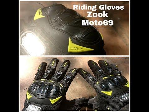 Zoook Moto69 | ZMT-BK300 | Premium | Pro Biker |  Gloves