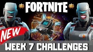 WEEK 7 CHALLENGES|UNLOCKING Hunting Party Skin|2223 Wins|Fortnite Battle Royale Live