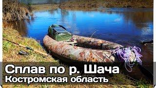 [РВ] Одиночный сплав р. Шача (Костромская)