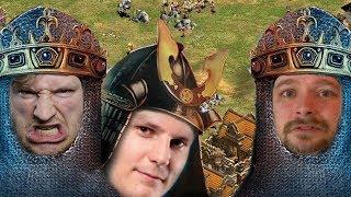 Es wird schwerer! - 2v1 Alle gegen Marco feat. LessQQ   Age of Empires 2 [#22]