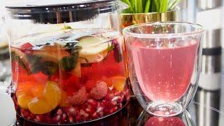 Фруктовый чай. Из настоящих фруктов и ягод | Это просто