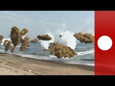 Video of US, S.Korea marines & navy in amphibious landing drill