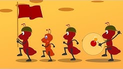 The ants go marching one by one song
