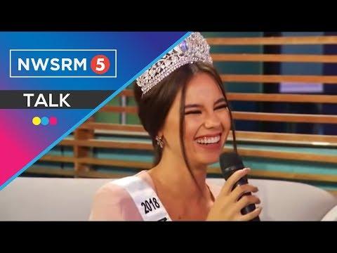 Kulitan at kantahan with Miss Universe PH 2018 Catriona Gray