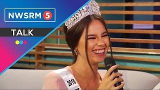 Miss Universe-Philippines 2018 Catriona Gray, rumampa at nakipagkulitan sa newsroom5live stage!