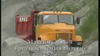 Kraz 6x6 dump truck