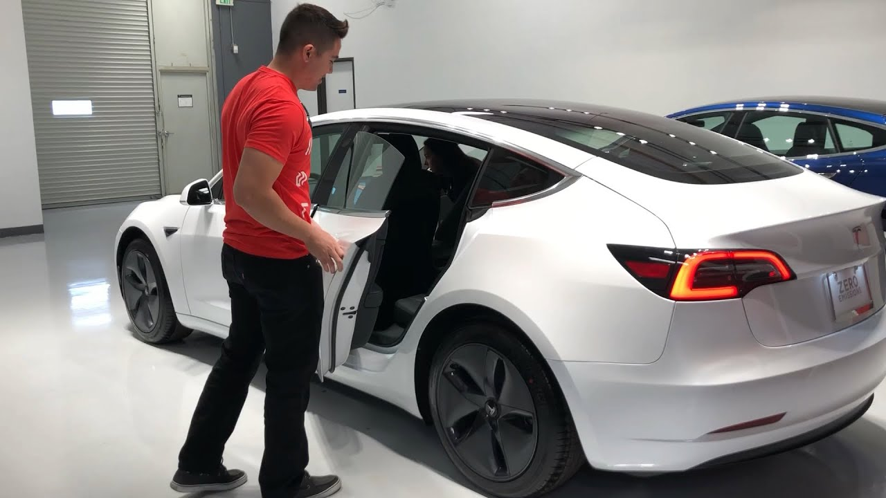 The Tesla Model 3 Delivery Experience - YouTube