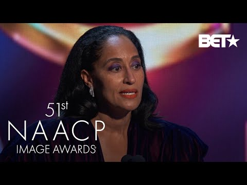 Tracee Ellis Ross Wins Outstanding Actress In A Comedy Series! | NAACP Image Awards