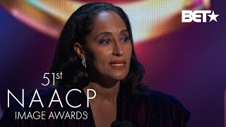 Tracee Ellis Ross Wins Outstanding Actress In A Comedy Series!   NAACP Image Awards