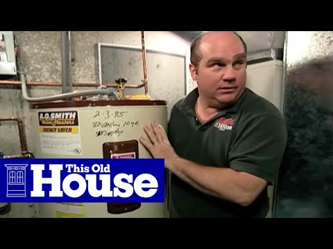 How to Flush a Water Heater | This Old House