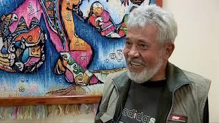 У художника из Шымкента Расылбека Естемесова персональная выставка