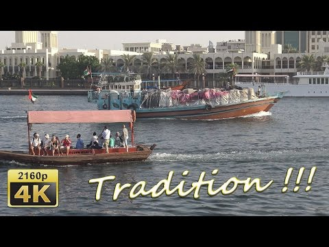 Dubai Creek and Spice Market - Dubai 4K Travel Channel