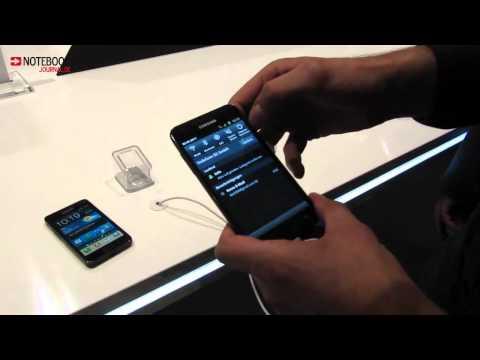 Samsung Galaxy S2 LTE -- HandsOn (german) @ IFA 2011