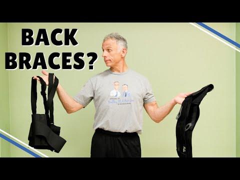 Back Pain? Should You Wear A Back Brace? 5 Rules To Follow