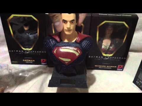 Petron Batman V Superman Collectibles - Superman Digital Clock