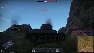 War Thunder: Enemy destruction moment | Shot with GeForce