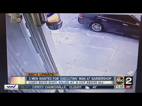 3 men wanted in execution-style shooting at A Cut Above All barbershop