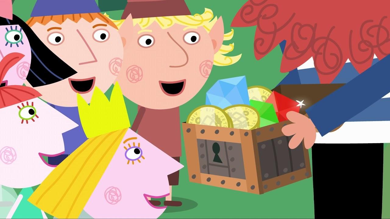 Ben y Holly en Español ☠️  Barbarroja el Duende Pirata ☠️ Dibujos Animados Divertidos para Niños
