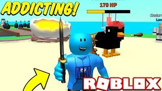 THIS IS THE MOST ADDICTING GAME IN ROBLOX!! (Roblox Egg Farm Simulator)