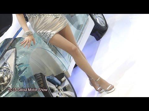 2015 Seoul Motor Show서울모터쇼 만도부스 레이싱모델 홍지연