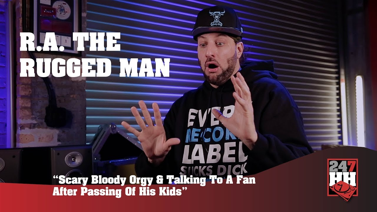 R A The Rugged Man Scary Talking To Fan After His Kids Ping 247hh Wild Tour Stories