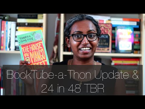 BookTube-a-Thon Update + Friday Reads + 24 in 48 TBR