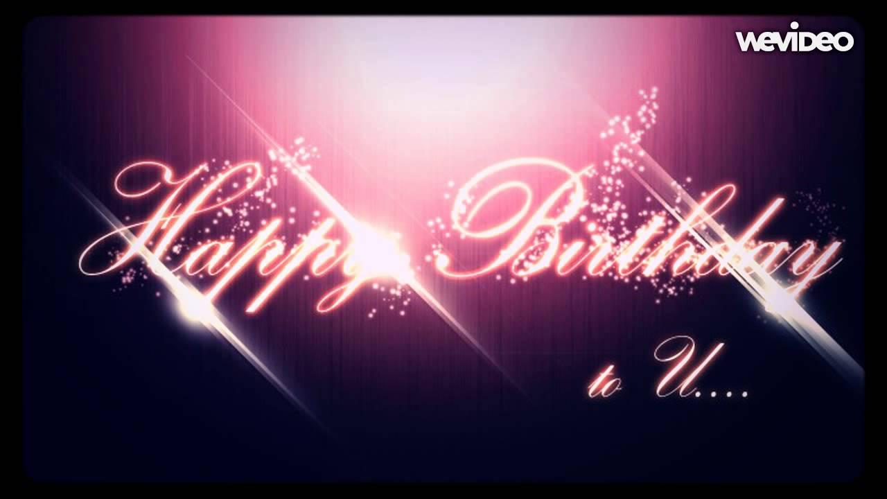 Lovely Happy Birthday Instrumental Version Youtube