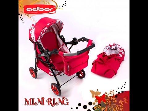 Коляска для куклы Adbor Mini Ring
