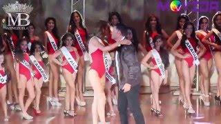 Desfile en traje de baño del Models Belleza Venezuela