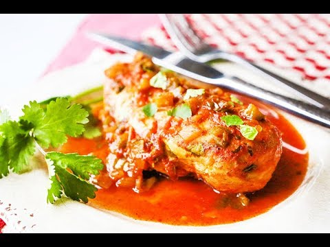 THE BEST Cilantro Lime Chicken Recipe!