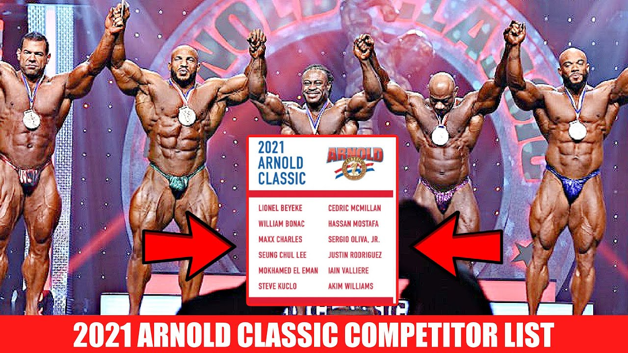 2021 Arnold Classic USA Competitor List Released!!!!