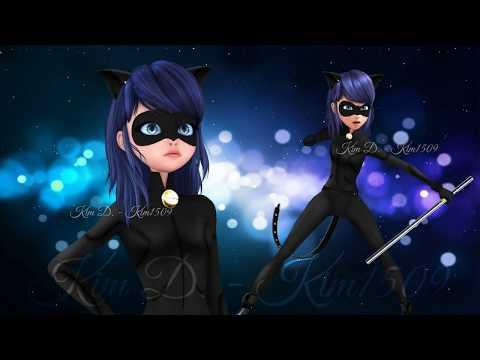 Miraculous Ladybug Speededit: Marinette as Chat Noir (Re-edit)