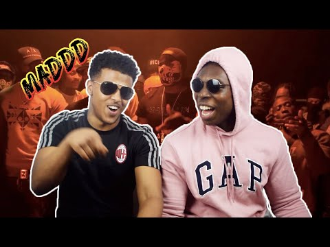 Burner Ft Tiny Boost, M24, AM (410) & OneFour - Maddest Of The Maddest Remix | Link Up TV - REACTION