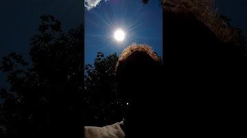 Eclipse Selfie Camera Test