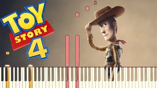 The Ballad of the Lonesome Cowboy - Toy Story 4 | Piano Tutorial (Synthesia)