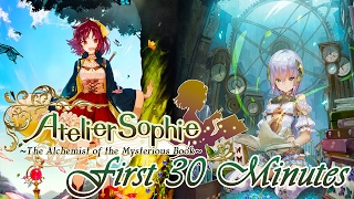 Atelier Sophie: The Alchemist of the Mysterious Book | First 30 Minutes | PC Gameplay (JRPG)