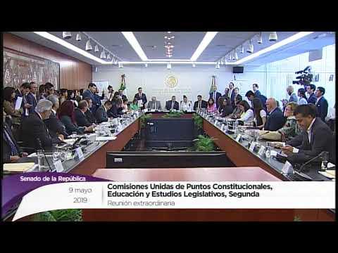 Reunión de la Comisión de Puntos Constitucionales, de Educación y de Estudios Legislativos, Segunda