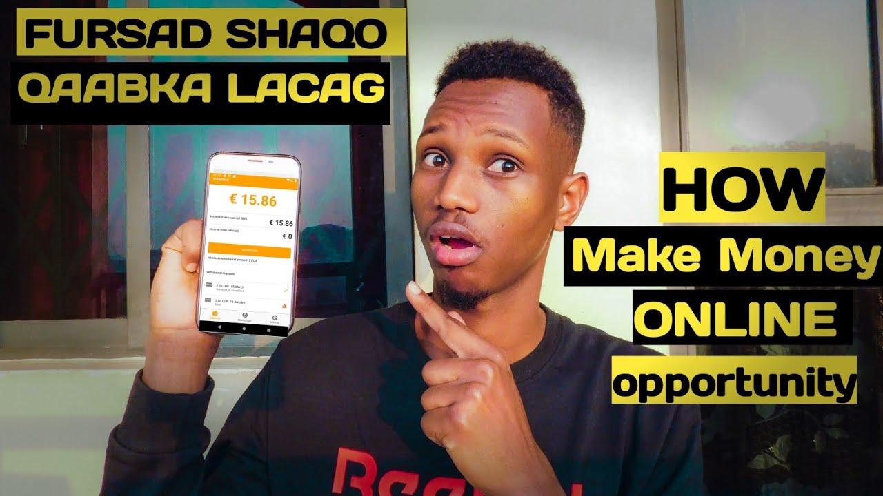 SIDA LOO HELO FURSADO SHAQO // SIDA ONLINE LACAG LOOGA SAMEEYO //2021